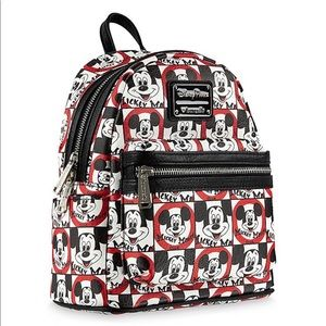 Disney Loungefly Mickey Mouse Club Packpack NWT